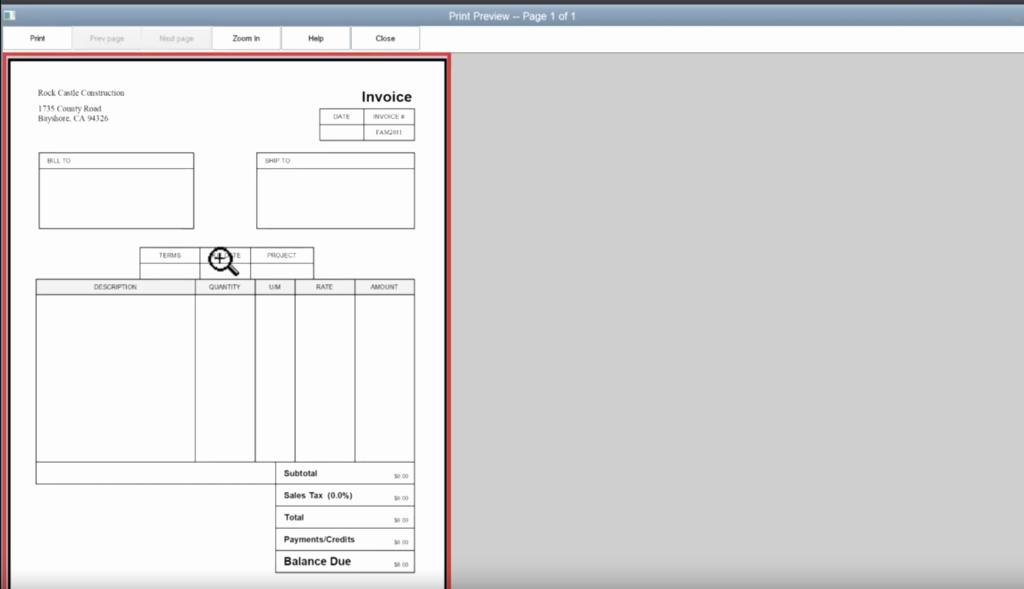 Screen Printing Invoice Template New How to Edit An Invoice Template In Quickbooks – Gentle