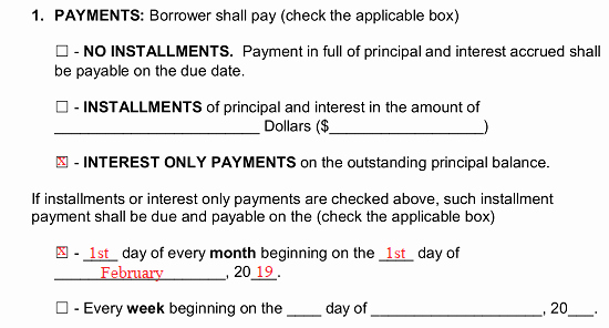 Secured Promissory Note Template Pdf Elegant Free Secured Promissory Note Template Word