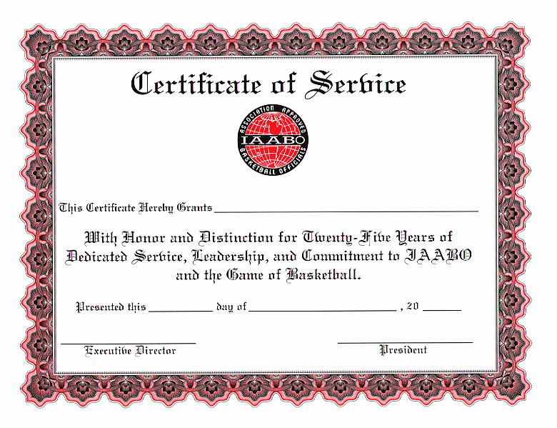 Service Awards Certificates Template Beautiful Certificates