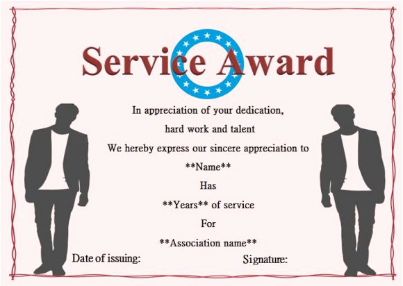 Service Awards Certificates Template Inspirational 12 Service Certificate Templates