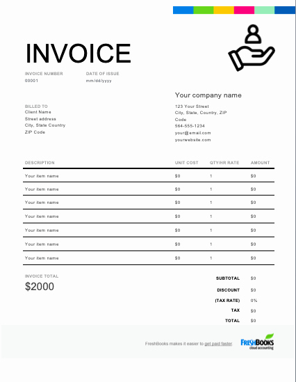 Services Rendered Invoice Template Beautiful Services Rendered Invoice Template Free Download