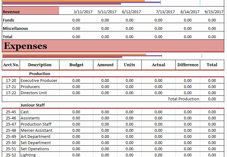 Short Film Budget Template Inspirational Media Templates Archives Ms Fice Documents