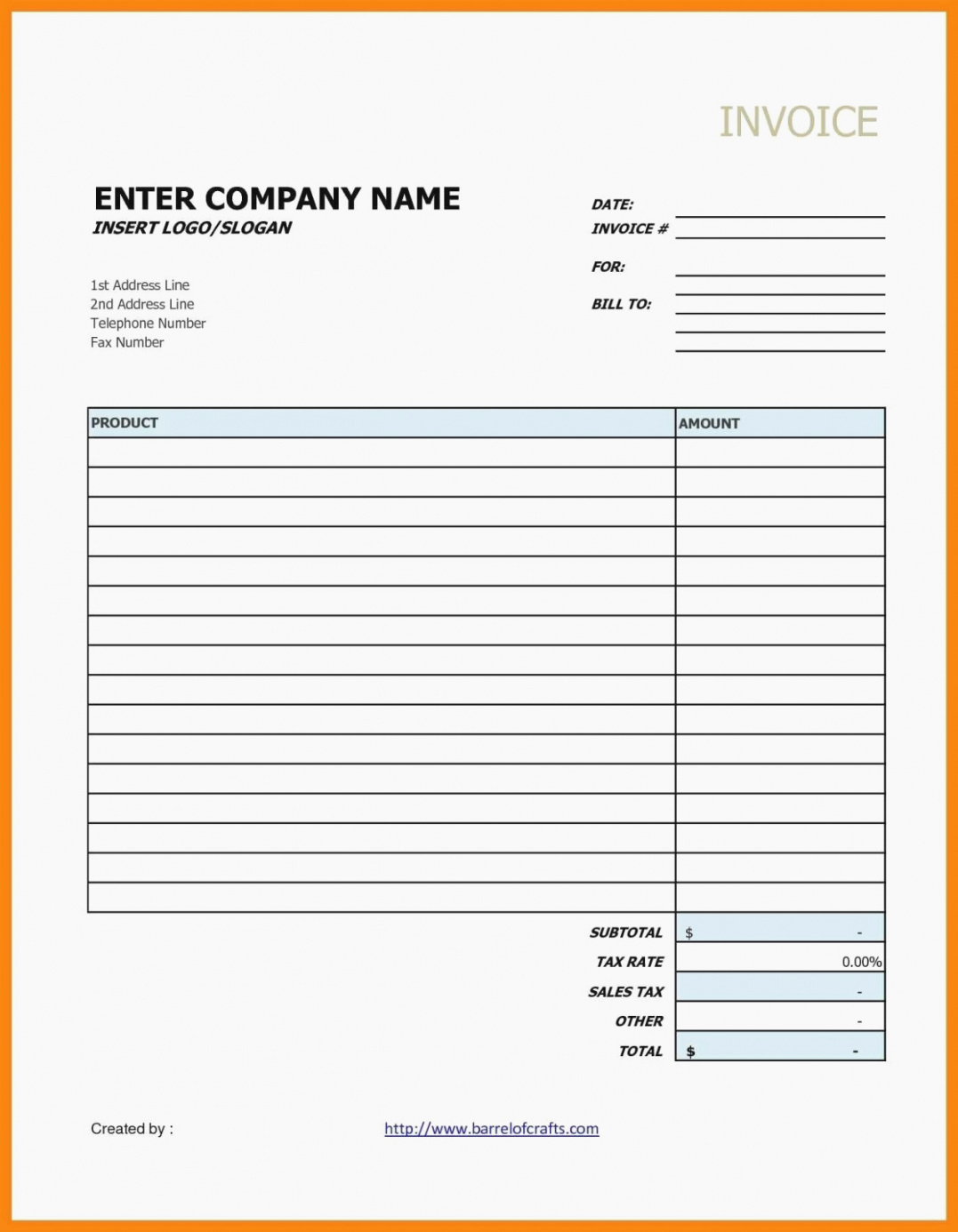 Simple Invoice Template Google Docs Awesome Contractor Invoice Template Google Docs