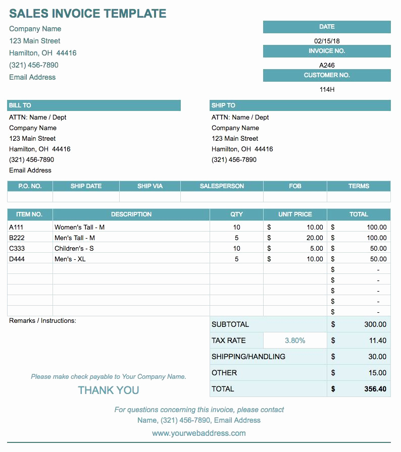 Simple Invoice Template Google Docs New Invoice Google Doc