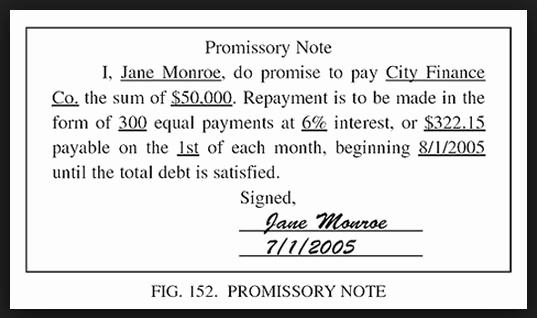 Simple Promissory Note Template Elegant Printable Sample Simple Promissory Note form