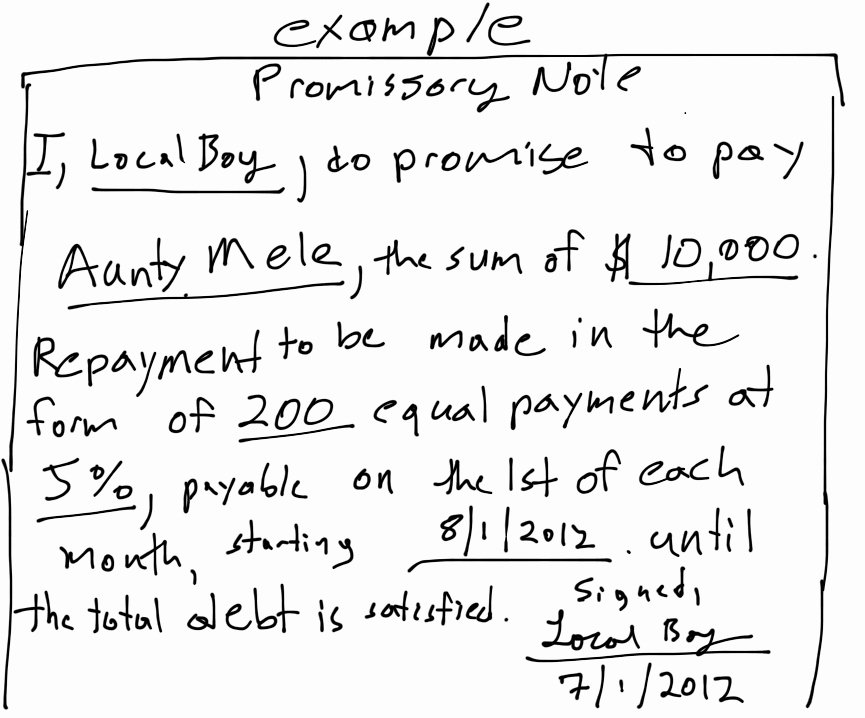 Simple Promissory Note Template Lovely Printable Sample Simple Promissory Note form