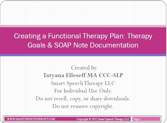Soap Notes Speech therapy Template Best Of General assessment and Treatment Start Up Bundle