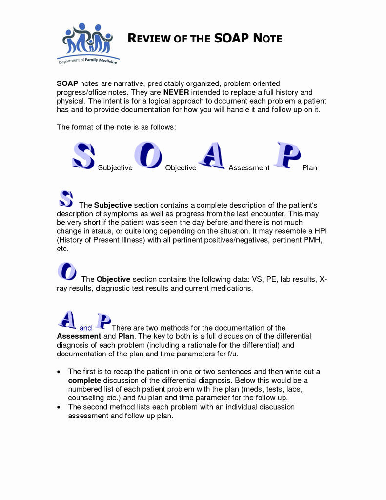 Soap Notes Template Counseling Beautiful therapy Progress Note Template