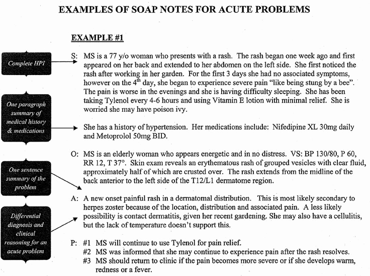 Soap Progress Notes Template New Sample Occupational therapy soap Note Google Search
