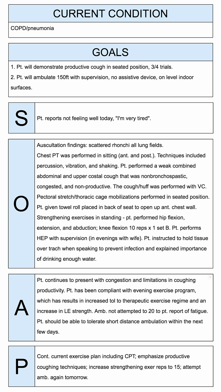 Soap therapy Note Template Fresh How to Write Incredible Physical therapist soap Notes