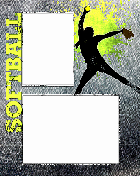 Softball Memory Mate Template Awesome softball Templates
