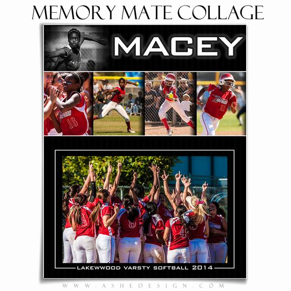 sports memory mate collage set pure