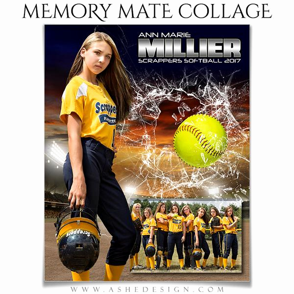 Softball Memory Mate Template Lovely ashe Design Sports Memory Mates