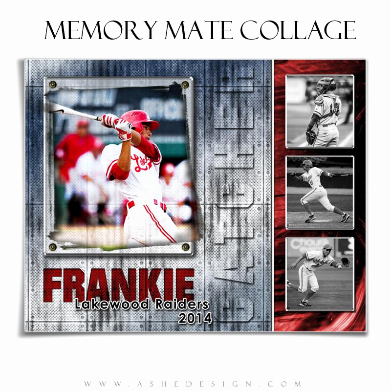 Softball Memory Mate Template Luxury Sports Memory Mates 8x10 Riveted – ashedesign