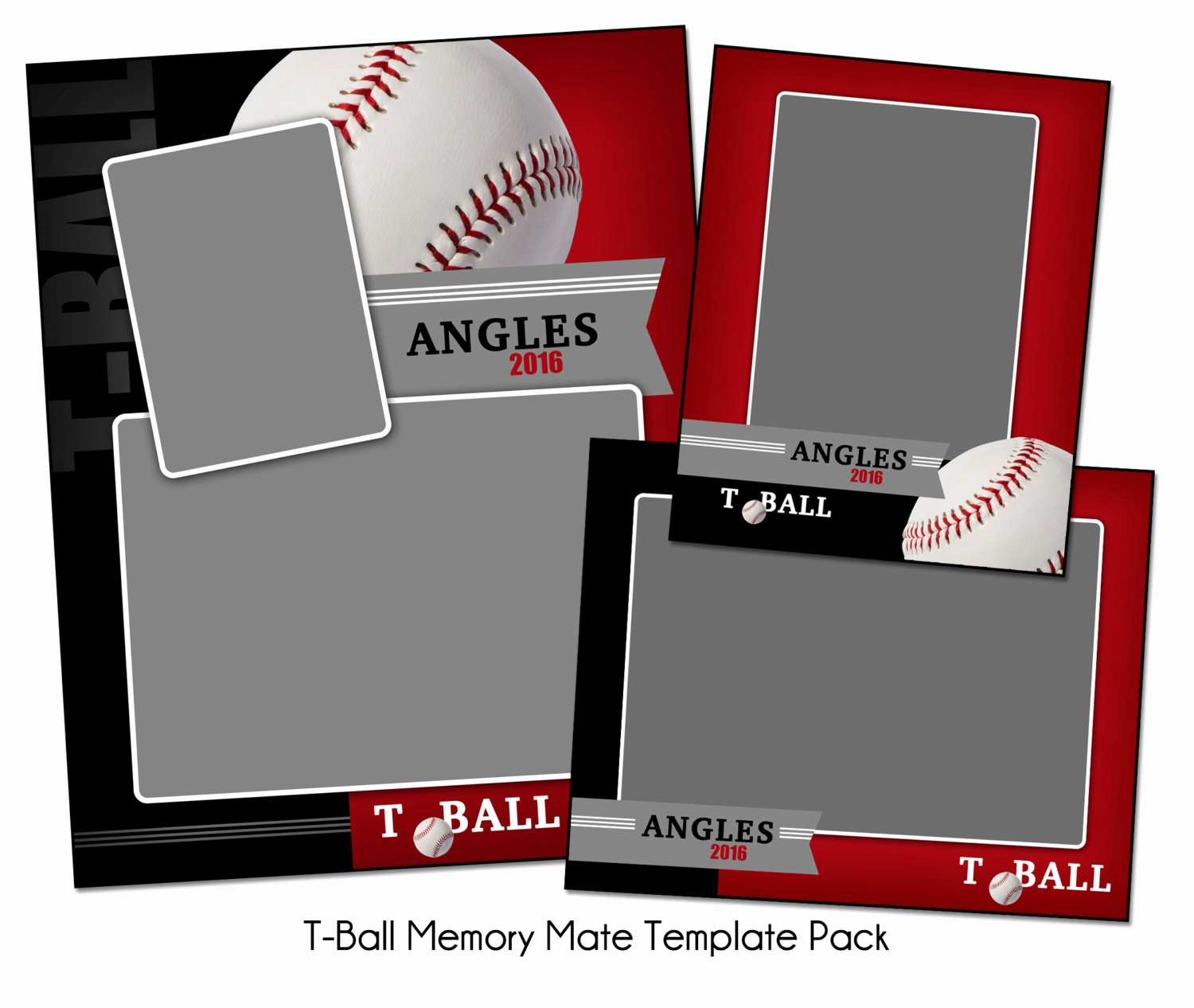 Softball Memory Mate Template Luxury T Ball Pack B Memory Mate Sports Templates Digital