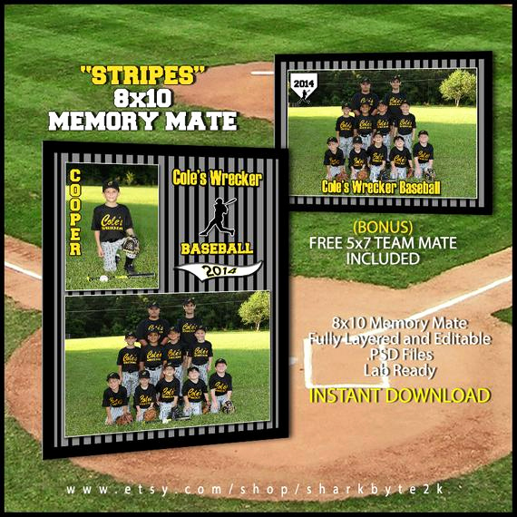 Softball Memory Mate Template Unique 2017 Baseball Sports Memory Mate Template for Shop