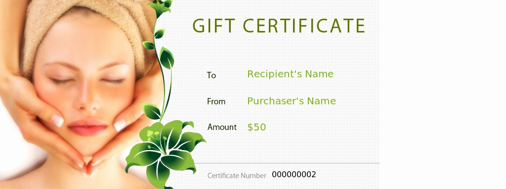 Spa Gift Certificate Template Free Lovely 29 Of Massage Gift Certificate Template