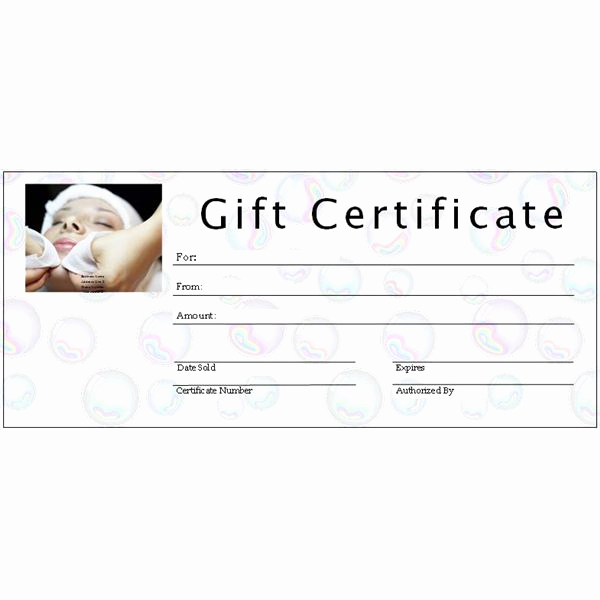 Spa Gift Certificate Template Free Luxury 6 Free Printable Gift Certificate Templates for Ms Publisher