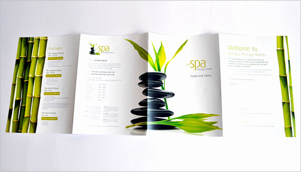 Spa Menu Template Free Awesome 21 Spa Menu Templates Psd Eps