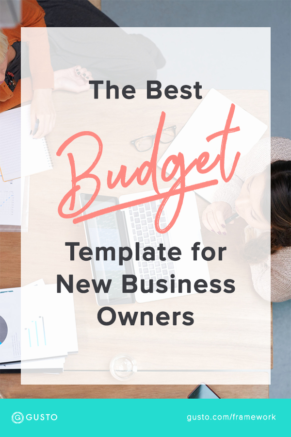 Start Up Business Budget Template Fresh How to Create A Startup Bud