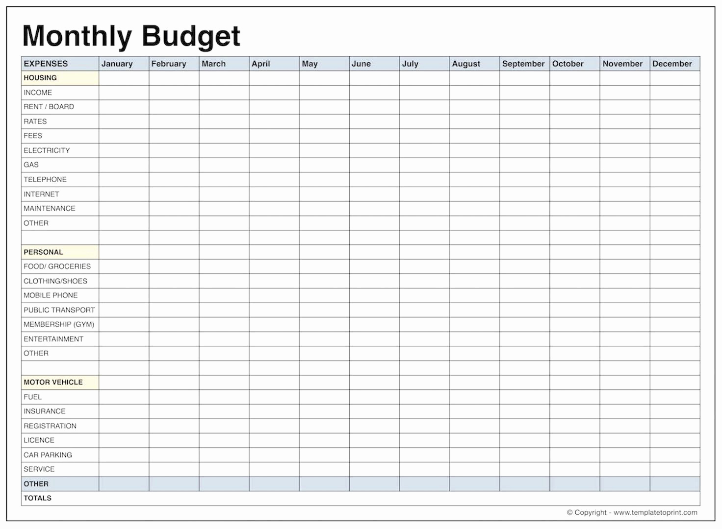 Student Monthly Budget Template Beautiful Monthly Bud Template
