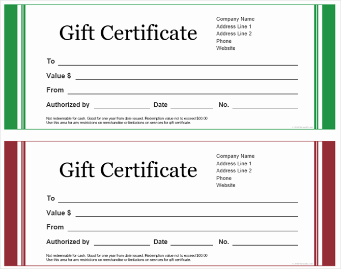 Template for A Gift Certificate Elegant Get A Free Gift Certificate Template for Microsoft Fice