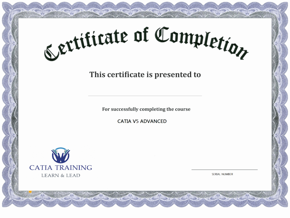 Template for Certificate Of Completion Luxury 13 Certificate Of Pletion Templates Excel Pdf formats
