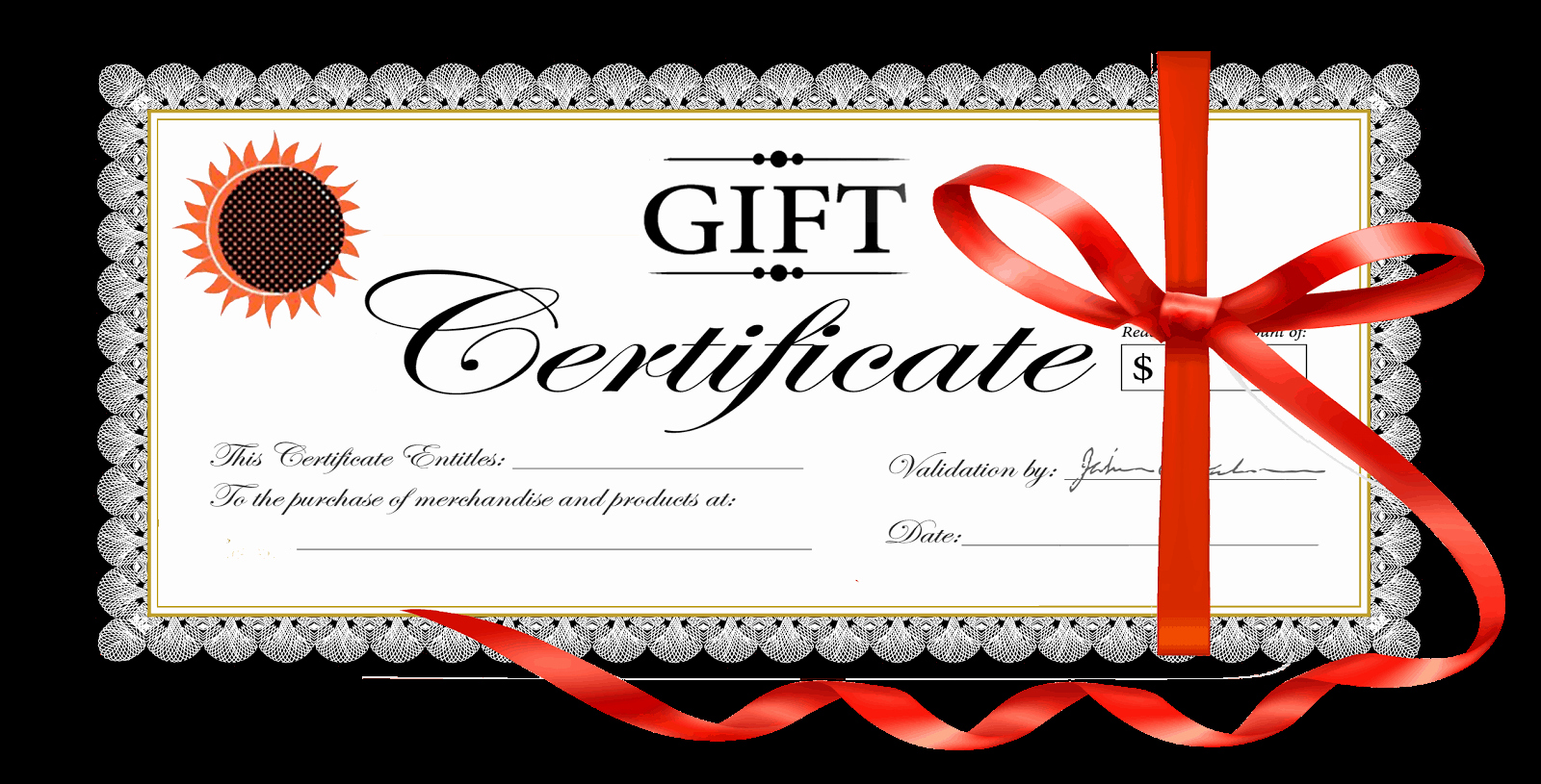 Template for Gift Certificate Fresh 18 Gift Certificate Templates Excel Pdf formats