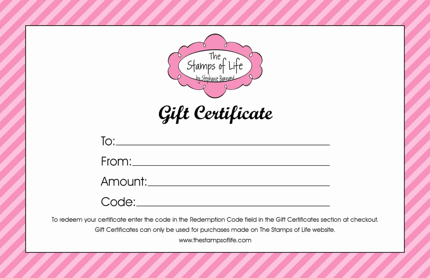 Template for Gift Certificate Fresh 21 Free Free Gift Certificate Templates Word Excel formats