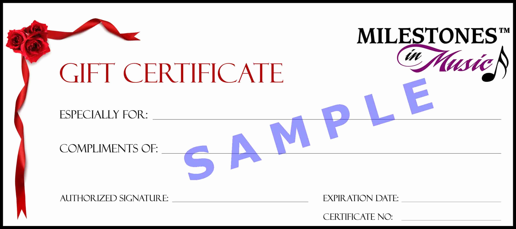 Template for Gift Certificate New 18 Gift Certificate Templates Excel Pdf formats