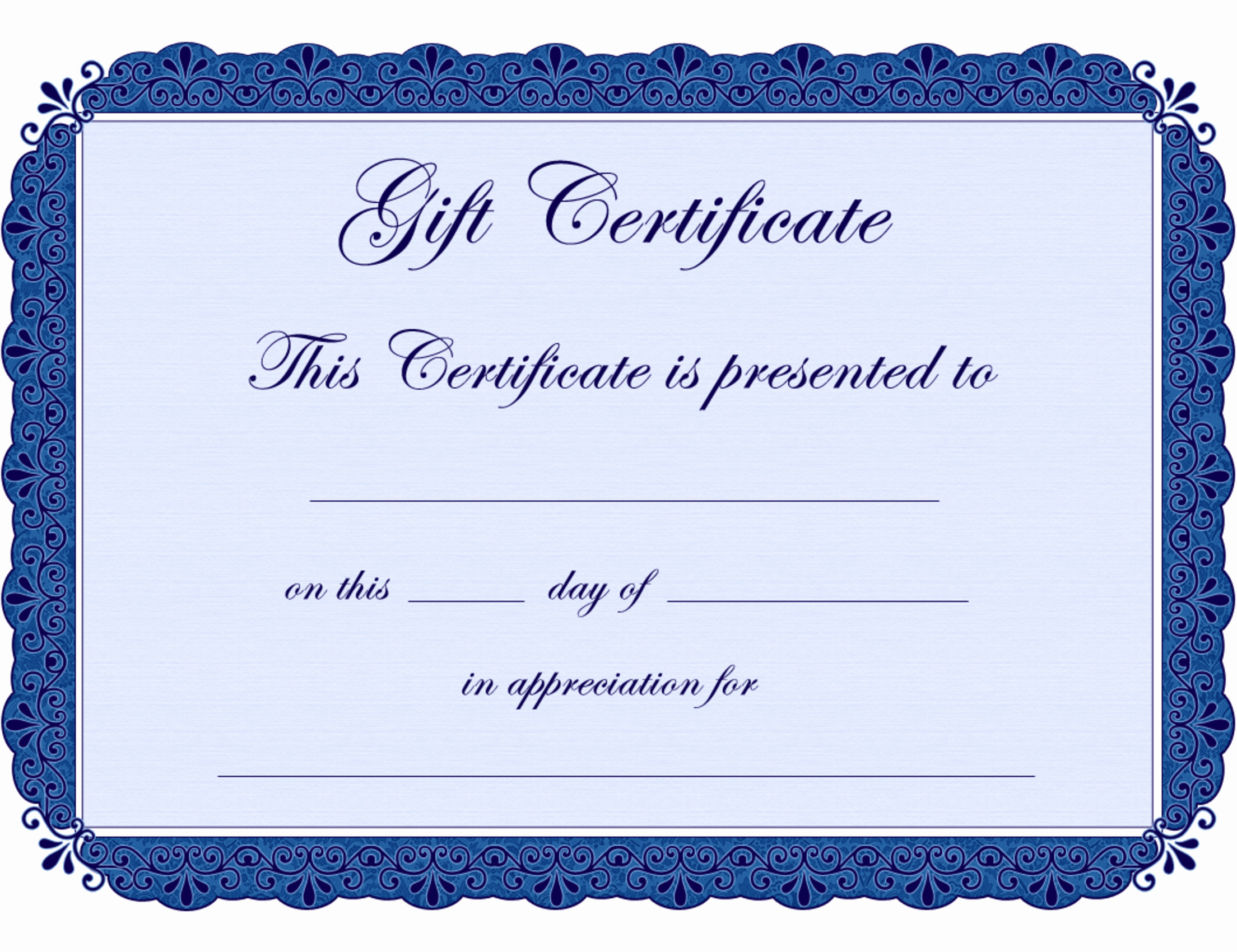 Template for Gift Certificate Unique Printable Babysitting Coupon Template Clipart Best