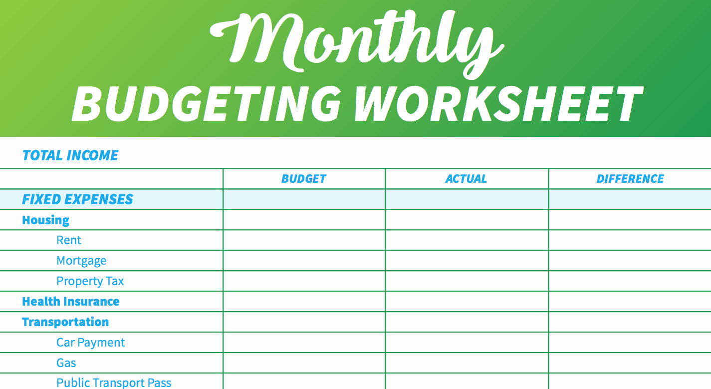 Template for Monthly Budget Elegant 14 Free Bud Templates and Spreadsheets
