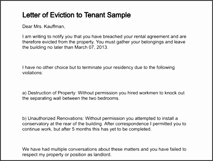 Tenant Eviction Notice Template Unique 10 Tenant Eviction Notice Template Sampletemplatess