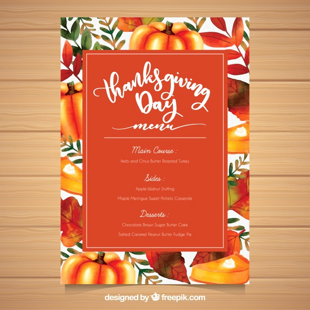 Thanksgiving Day Menu Template Inspirational Check Out some Of the Best Thanksgiving Vectors and Photos