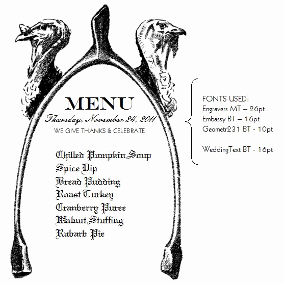 Thanksgiving Day Menu Template Lovely Pin by Morgan Hickson Fray On Pretty Artful Shapes and