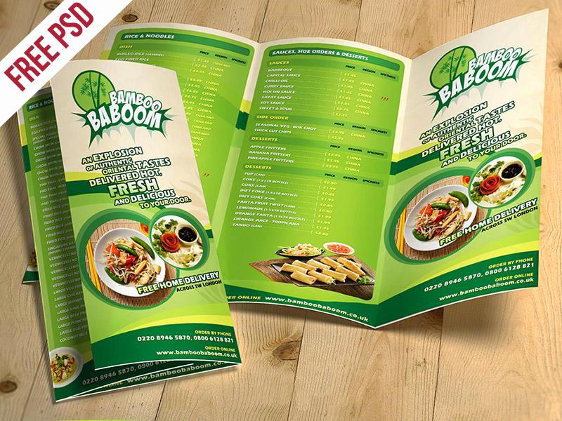 Tri Fold Menu Template Free Elegant 20 Awesome Free Brochure Templates Mockups