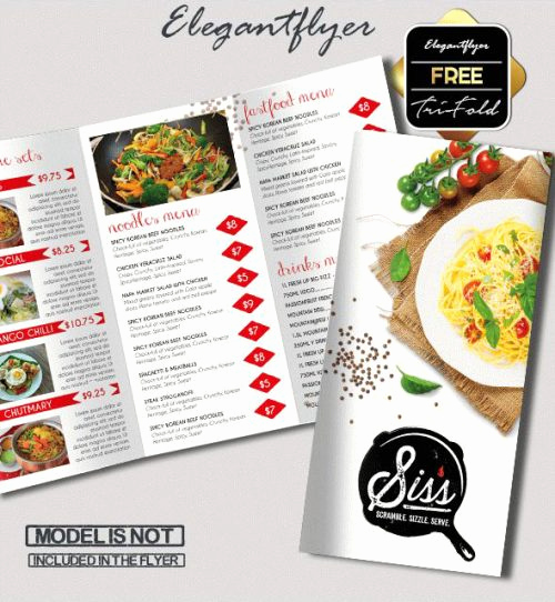 Tri Fold Menu Template Free Lovely 93 Premium and Free Psd Tri Fold & Bi Fold Brochures