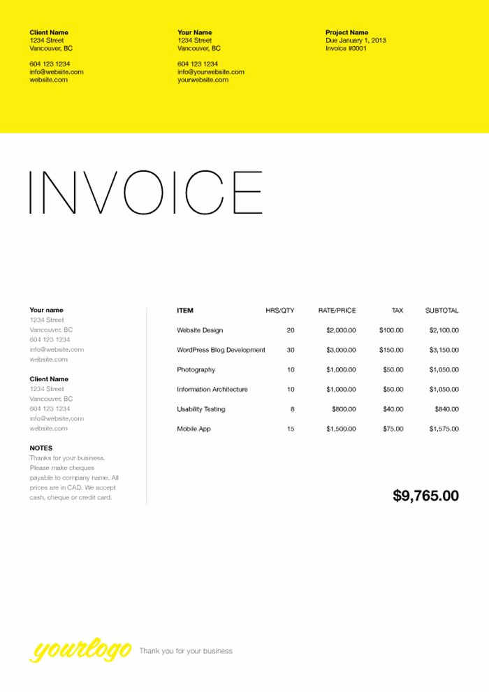 Website Design Invoice Template Inspirational 76 Best Web Design Quotation Images On Pinterest