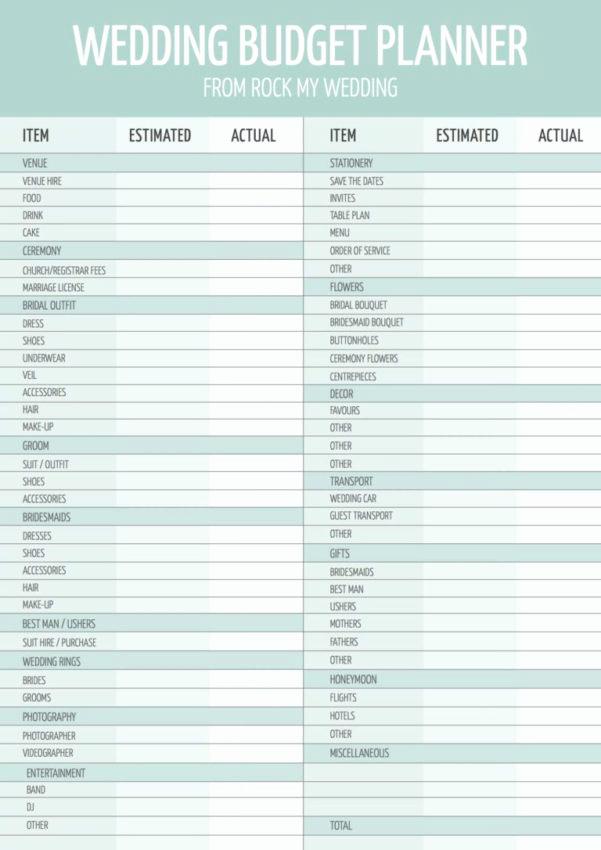 Wedding Budget Spreadsheet Template Inspirational A Practical Wedding Spreadsheets Google Spreadshee A