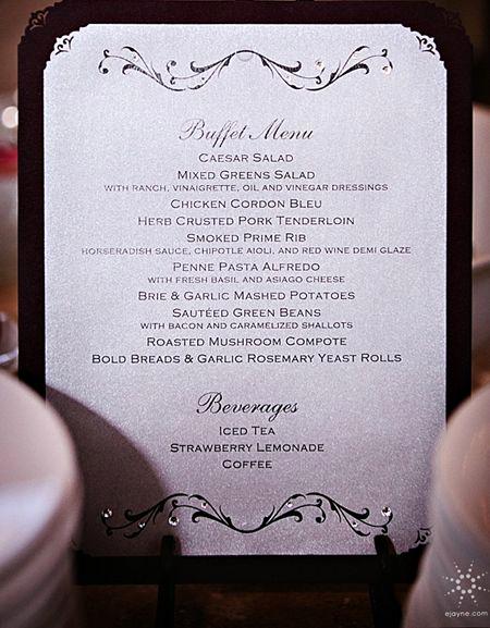 Wedding Buffet Menu Template Fresh 114 Best Images About for Meghan On Pinterest