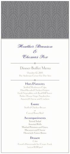 Wedding Buffet Menu Template Inspirational Wedding Buffet Menus