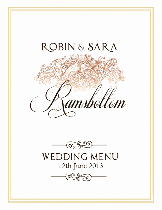 Wedding Menu Template Free Download Awesome Free Wedding Menu Design Shop Templates