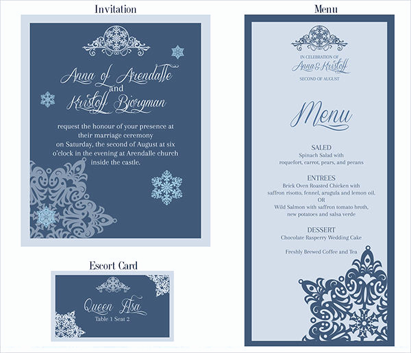 Wedding Menu Template Free Download Beautiful 26 Downloadable Wedding Cards
