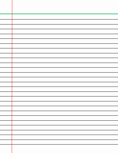 Wide Ruled Notebook Paper Template Best Of Wide Lined Writing Paper Lined Paper Template Wide Lined