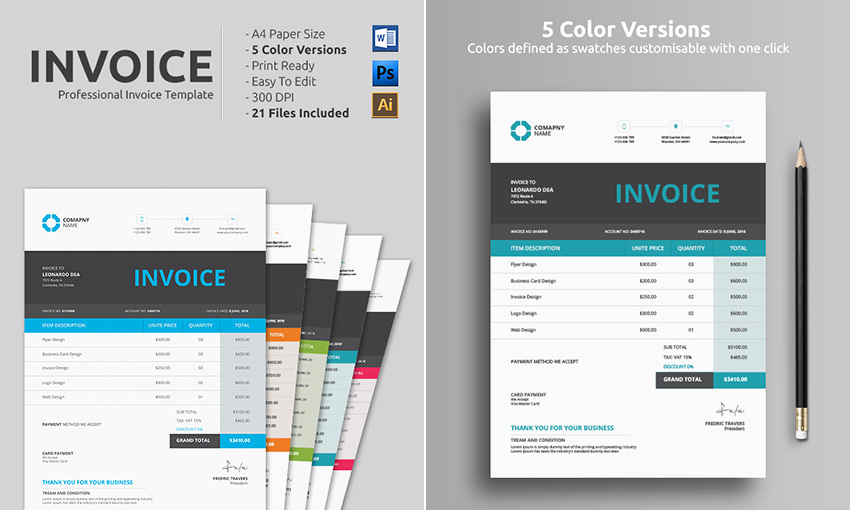 Word Document Invoice Template Best Of 14 Simple Invoice Templates Made for Microsoft Word