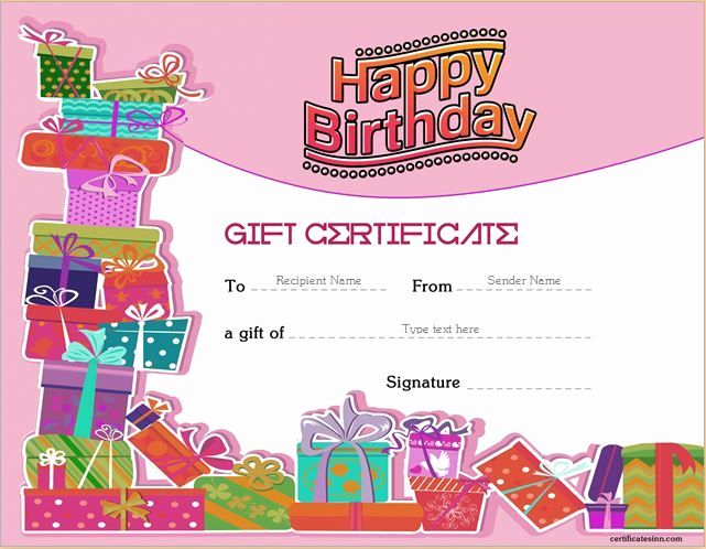 Word Template Gift Certificate Fresh Pin by Alizbath Adam On Certificates