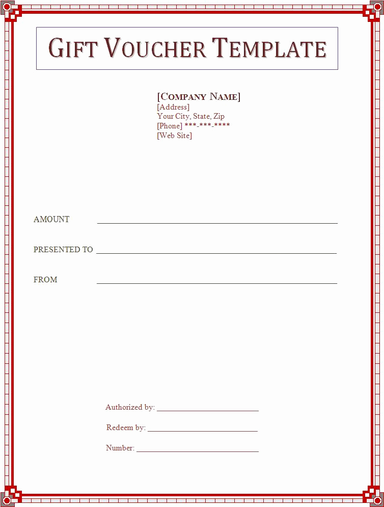Word Template Gift Certificate Inspirational 2 Gift Voucher Templatefree Word Templates