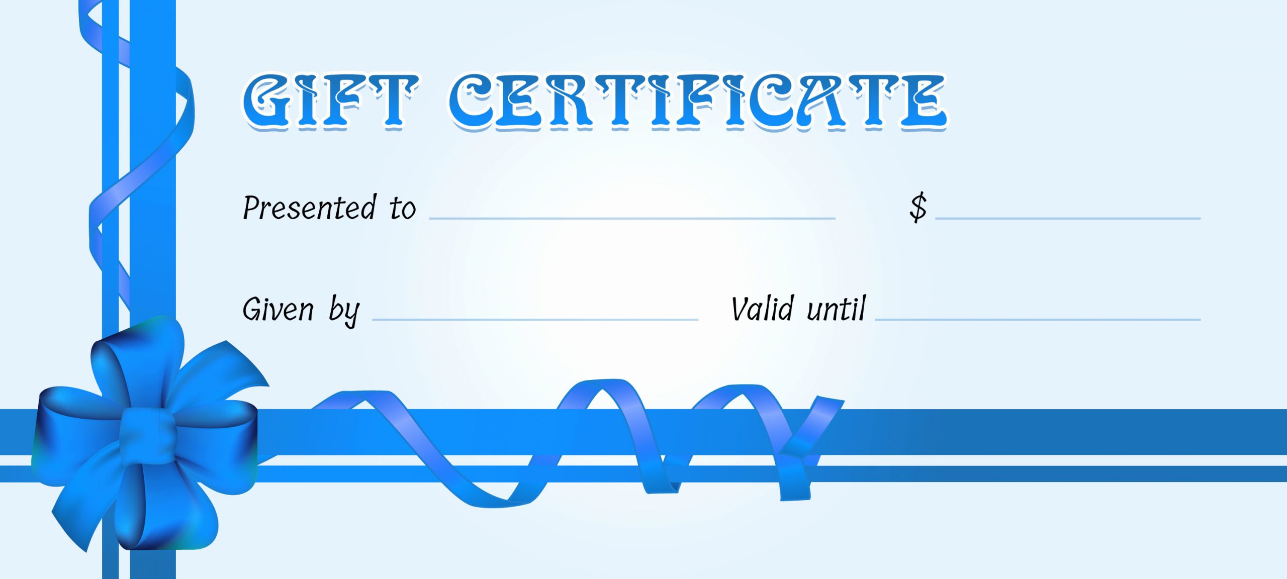 Word Template Gift Certificate Inspirational Business Gift Certificates for All events