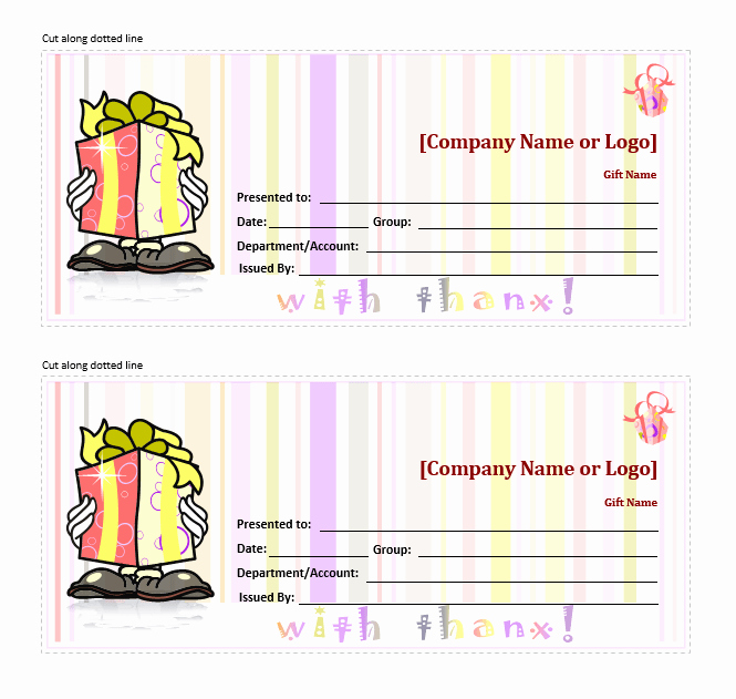 Word Template Gift Certificate Luxury 11 Free Gift Certificate Templates – Word Templates for