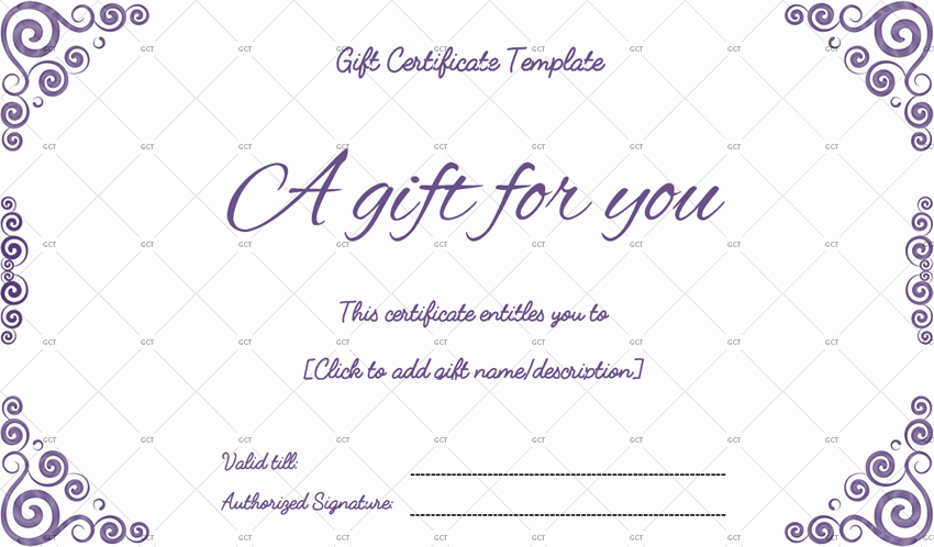 Word Template Gift Certificate Unique Sna Rounds Gift Certificate Template for Word